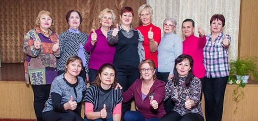 Фотоотчет клуба здоровья 14.11.2015 в церкви Сила Любви миниатюра