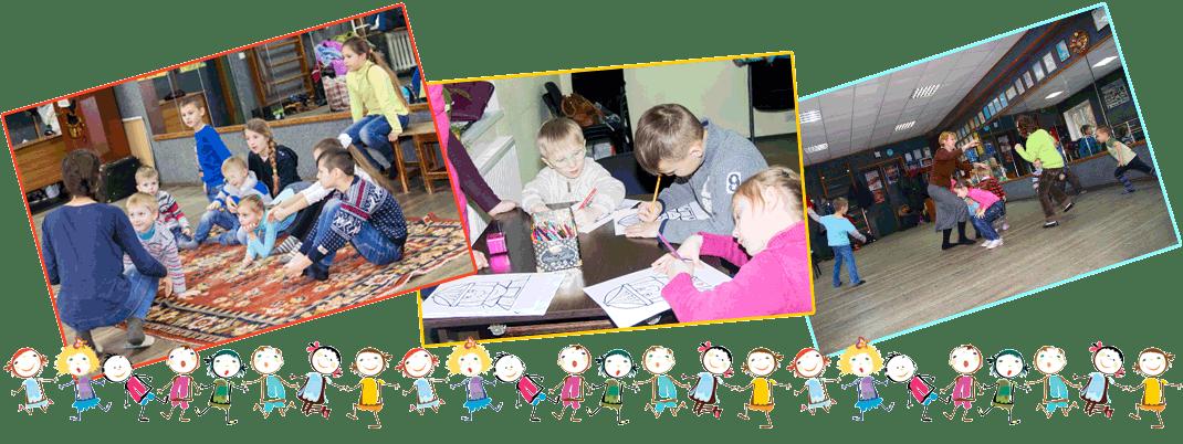 Фотографии детского служения христианской в церкви Сила Любви