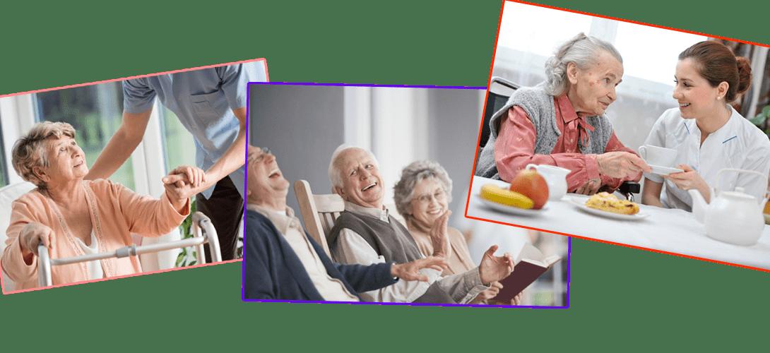 Изображение милосердия к пожилым