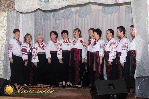 Фотография хора на 17 годовщине в Киеве