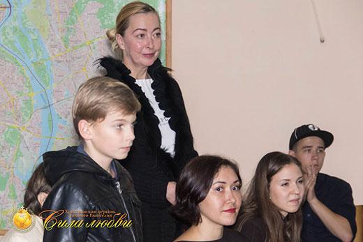 Фотография первое знакомство с церковью Сила Любви в Киеве