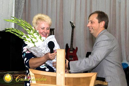 Фотография поздравления церкви Коцюбинское на 17 годовщине в Киеве