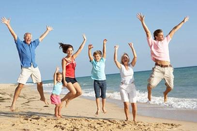 Картинка здоровой и счастливой семьи