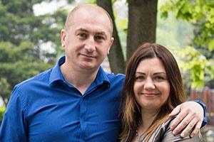 Юлия Нижник с мужем фотография