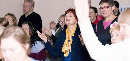 Воскресное служение 26.11.2017 в Киеве фотография