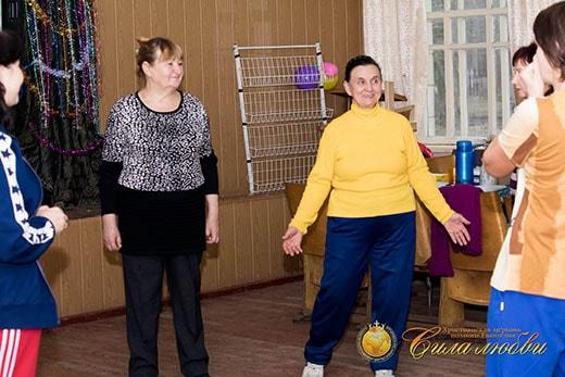 Общение на клубе здоровья в Киеве фотография