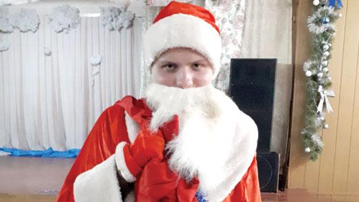 Дед мороз на детском клубе 6 января фотография