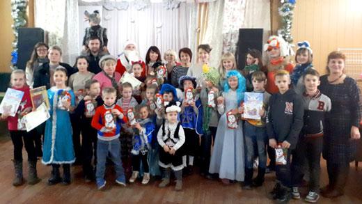 Общее фото на детском клубе 6 января