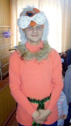 Костюм лисы на детском клубе фотография