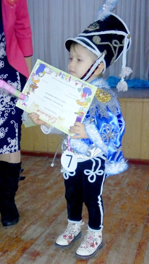 Победитель конкурса на детском клубе 6 января фотография
