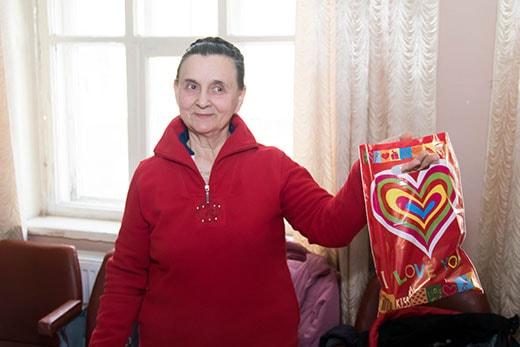 Поздравление Нели Ивановны на клубе здоровья в Киеве 17.02.2018 фото