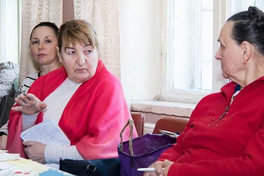Общение на клубе здоровья в Киеве 17.02.2018 в Святошинском районе фото