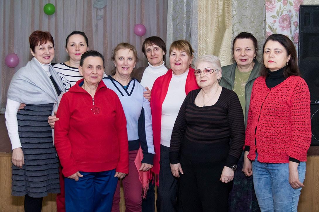 Общая фотография клуба здоровья в Киеве 17.02.2018 фото