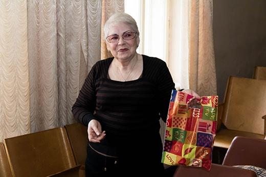 Поздравление Валентины Ивановны на клубе здоровья в Киеве 17.02.2018 фотография