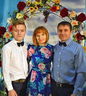Свидетельство семьи Куценко Владимира и Лилии с сыном Иваном фотография