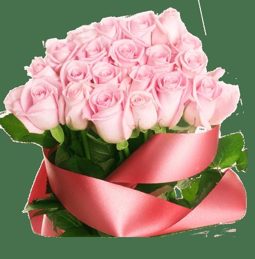 Розовые розы пастору Галине 2018 картинка