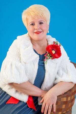 """Фотография пастора церкви """"Сила Любви"""" Ларисы Николаевны Криворучко"""